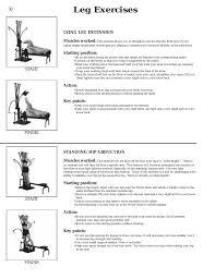 Leg Exercises Bowflex Xtl User Manual Page 52 80