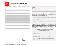Employee Timesheet Template Employee Timesheet Template Generic Hourly Employee Timesheet 20