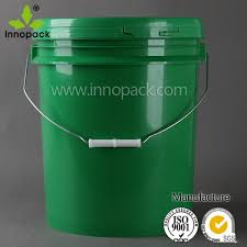 20 gallon bucket. 5 Gallon Plastic Paint Container 20 Liter With Lid Handle Bucket