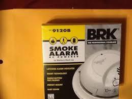 brk premium smoke alarm 9120b 120 v ac with battery back up & wiring Smoke Detector Electrical Wiring at Smoke Detector Wiring Harness