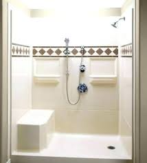 shower cubicles plan. Shower Stall Kit Bathroom Bath Kits With Seat Inside Fiberglass For Within Mobile Home Enclosures Remodel 10 Cubicles Plan