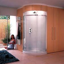 Wonderful Curved Shower Enclosures Uk Matki Radiance Corner Throughout Decor