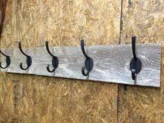 Solid Oak Coat Rack 100 Solid Oak 100s Reclaimed Wood Coat Rack PLANED Smooth 66