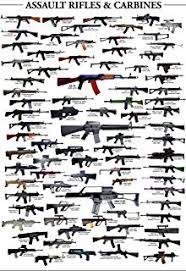 Gun Size Comparison Chart Amazon Com Tmrow Antique World Famous Gun Posters Vintage