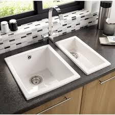 White Inset Kitchen Sink  Home Decorating Interior Design Bath White Inset Kitchen Sink