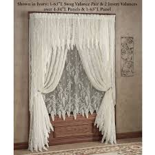 Lace Bedroom Curtains Wisteria Arbor Lace Window Treatments Window Treatments Lace