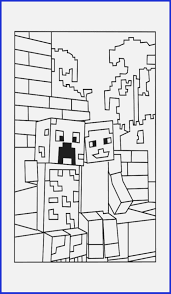 Mine Craft Coloring Page Minecraft Coloring Pages To Print Www