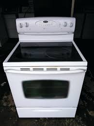maytag glass top stove glass top stove in perfect working order appliances in co maytag flat