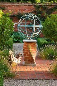 armillary sundial eclectic garden