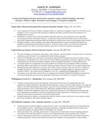 Litigation Attorney Resume Present Day Pics Commercial Law Sample