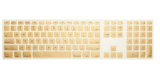 apple keyboard with numeric keypad. us version candy color silicone keyboard cover numeric keypad for apple imac g5/g6 protector flim -in covers from with
