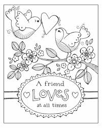Karla Dornacher Valentine Color Page Free