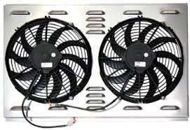 absolute radiator store northern s dual fan shroud combo solves the problem of how to mount two fans on a radiator out damaging the delicate fins of the radaitor