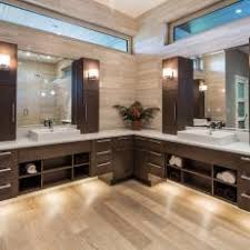 under vanity lighting.  Under Double Vanity With Upper Cabinets On Under Lighting E