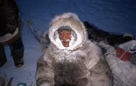 frozen breath commonly encrusts the hood of the parka where wolverine fur is available it may be used to trim the hood since it repels moisture