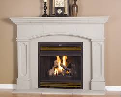 good looking decoration ideas using black fireplace mantels charming beige wall painting with white mantel