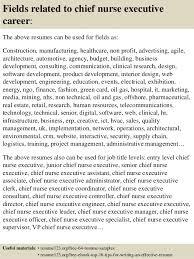 Nurse Executive Sample Resume