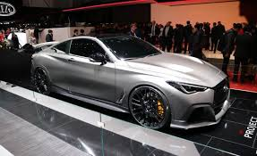 infiniti q60 blacked out. infiniti has been all about showing us its true colors lately following the debutu2014and eventual quiet demiseu2014of q50 eau rouge concept thatu0027s literally q60 blacked out l