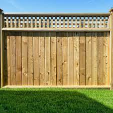 wooden fence panels harrow