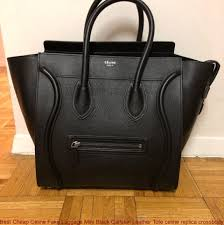 best céline fake luggage mini black calfskin leather tote celine replica cross whole replica bags supplier of high quality fake handbags