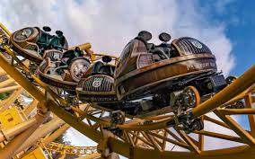 Paultons Park - Tornado Springs rides includes Storm Chaser