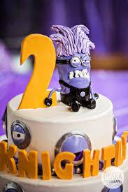 Minion Birthday Party Anaheim Despicable Me Purple Minion 2nd Birthday Party Fashion