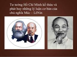 Image result for Lenin va Ho Chi Minh la thu Sieu Dân Tuý