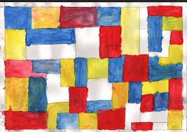Grade 3a Mondrian Paintings Art With Mr Q Image. house interior design ideas.  decorating ...