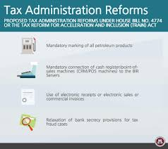 On Tax Reform for Acceleration and Inclusion (TRAIN) Package 1 ...