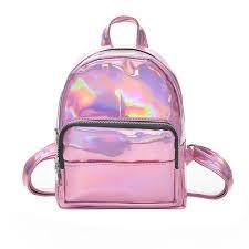 product details of cocoapps girl laser leather school bag backpack satchel women trave shoulder bag