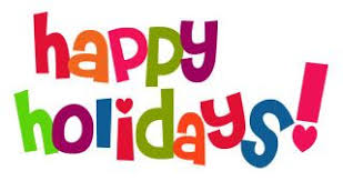 Image result for happy holidays free clipart
