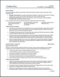 Writng Resumes Technical Writer Resume Example And Expert Tips