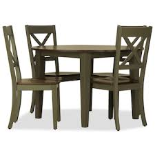 Pics of dining room furniture Roomstogo Sterling 5pc Round Dining Set Gray Art Van Dining Room Levin Furniture