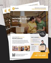 Moving Flyer Template Moving Flyer Template Psd A4 Download Posters