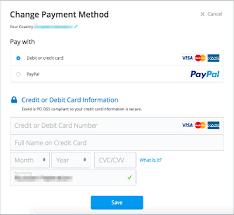 Updating Billing Info – Your Ecwid Help Center