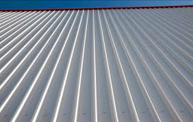 corrugated sheet metal roofing 29 with corrugated sheet metal roofing