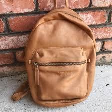 baggu handbags baggu leather backpack saddle