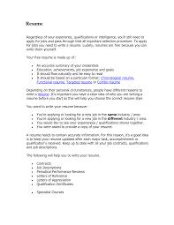Hybrid Resume format 2015