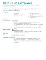 Contemporary Resume Templates Fascinating Contemporary 28 Resume Templates To Impress Any Employer LiveCareer