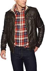 Men's Leather & Faux Leather Jackets & Coats - Levi's ... - Amazon.com