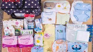 Chuẩn bị đồ đi sinh ở Nhật
