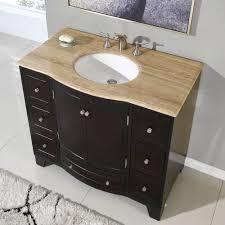 40 in. Naomi Single Sink Bathroom Vanity in Expresso (White Sink ...