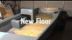 boat restoration 7 install fibergl