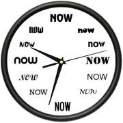 wall clock for office. IT\u0027S NOW TIME Wall Clock Funny Office Late Person Procrastinate Gift For T