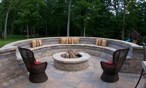 stamped concrete patio with fireplace. Building A Paver Patio With Fire Pit Cement Stamped Concrete Fireplace N