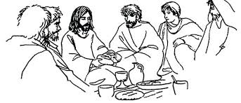 Small Picture Jesus Last Supper Coloring Page Corresponsablesco