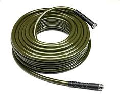 made in the usa this hose is easy to move around in the garden available in many diffe lengths and either brass or stainless steel garden hose