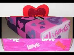 How To Decorate A Valentine Box Creative valentine box decor ideas YouTube 83