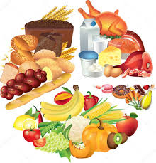 Food Pie Chart Food Pie Chart Illustration Stock Photo Andegraund548