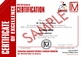 Certified Hvac Designer Certified Hvac And Refregeration Level 1 Vocational